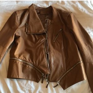 Blank NYC faux leather jacket